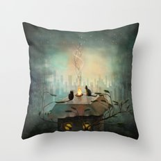 As time goes by ... Throw Pillow