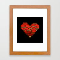 Book Love Framed Art Print