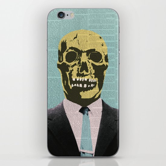 Working Man iPhone & iPod Skin