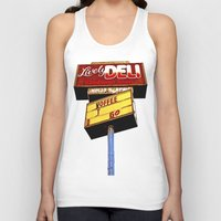 Sandwich shop sign Unisex Tank Top