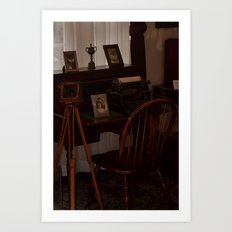 A Glimpse Back In Time Art Print