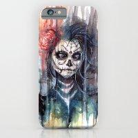 Sugar Skull - Calavera D… iPhone 6 Slim Case