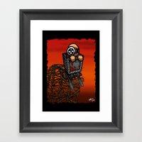 Le Parcours De La Mine Framed Art Print
