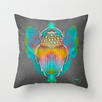 The Darkest Night Will End and the Sun Will Rise Throw Pillow