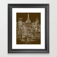 Paris! Framed Art Print