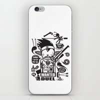 SORRY I MUST KILL YOU ! - DUEL iPhone & iPod Skin