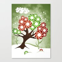Magic Candy Tree - V2 Canvas Print