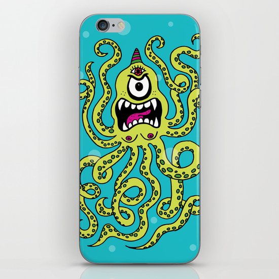 Monster Week, Day 2 iPhone & iPod Skin
