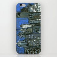 Philadelphia Skyline iPhone & iPod Skin