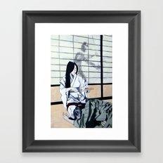 Forced Entry II Framed Art Print