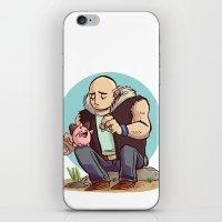 Roughneck Kirby iPhone & iPod Skin