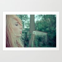 Dream....believe... Art Print