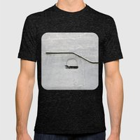 Grey Matter Mens Fitted Tee Tri-Black SMALL