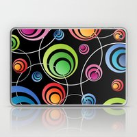 Circles In Circles. Laptop & iPad Skin