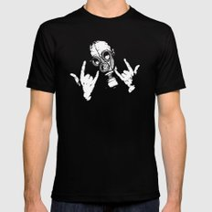 Devil Horns SMALL Black Mens Fitted Tee