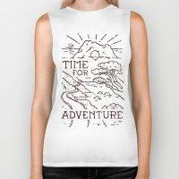Time For Adventure Biker Tank