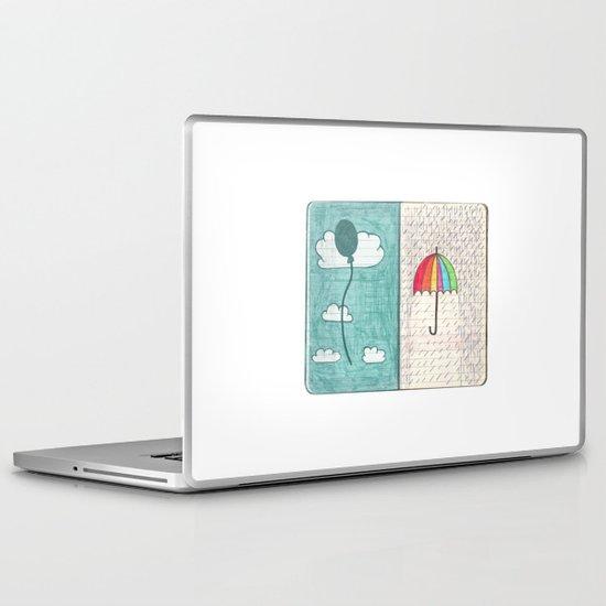 Always trust the weather Laptop & iPad Skin