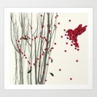 Valentine Heart Art Print