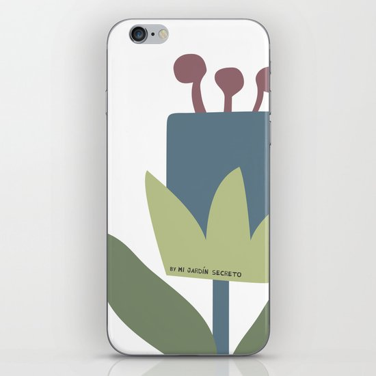 FLOR 3 iPhone & iPod Skin