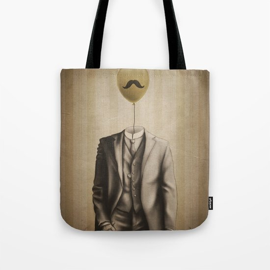 Mr. Whiskers Tote Bag