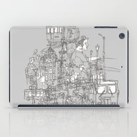 Interlocking Lives, Line… iPad Case