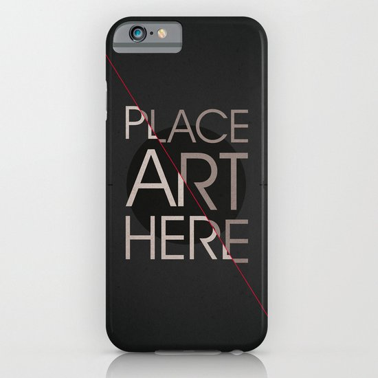 The Art Placeholder iPhone & iPod Case