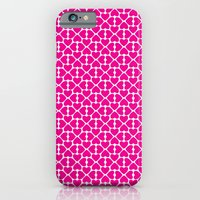 iPhone & iPod Case featuring Pink Trefoil by Jennifer Rogers
