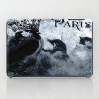 Paris Birds iPad Case