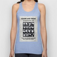 Bowie : Sound And Vision Unisex Tank Top