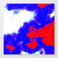 Patriotic Sky Canvas Print