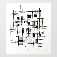 FENCES Art Print