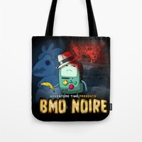 Adventure Time: BMO Noire Tote Bag