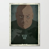 Game Of Thrones - The Wo… Canvas Print