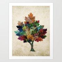 Fall Is Back! Art Print