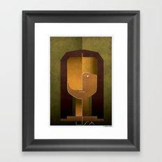 030_Lisa Framed Art Print