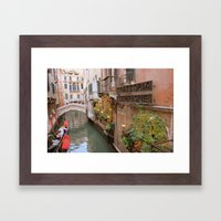 Rest Stop Framed Art Print