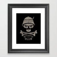 Explorer's Club Framed Art Print