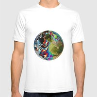 Pixelation  Mens Fitted Tee White SMALL