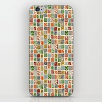 Tiny Boxes iPhone & iPod Skin