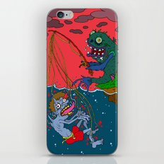 Fishin' time! iPhone & iPod Skin