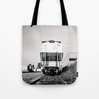 Train car waiting Tote Bag