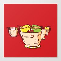 Head Spinners Canvas Print