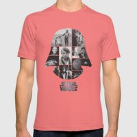A New Hope COLLAGE variation Mens Fitted Tee Pomegranate SMALL