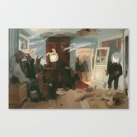 The House Of The Last Ca… Canvas Print