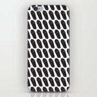 Black Coffins iPhone & iPod Skin