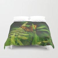 Butterfly, Bali Duvet Cover