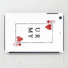 UR QUEEN OF MY HEART iPad Case