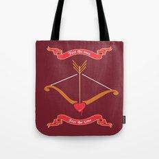 Love target. Tote Bag