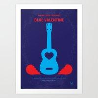 No379 My Blue Valentine … Art Print