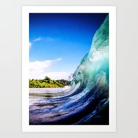 Wave Wall Art Print